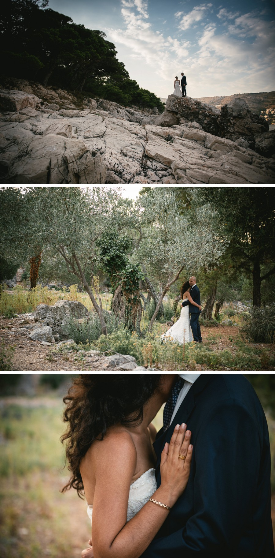 Wedding pictures near Dubrovnik