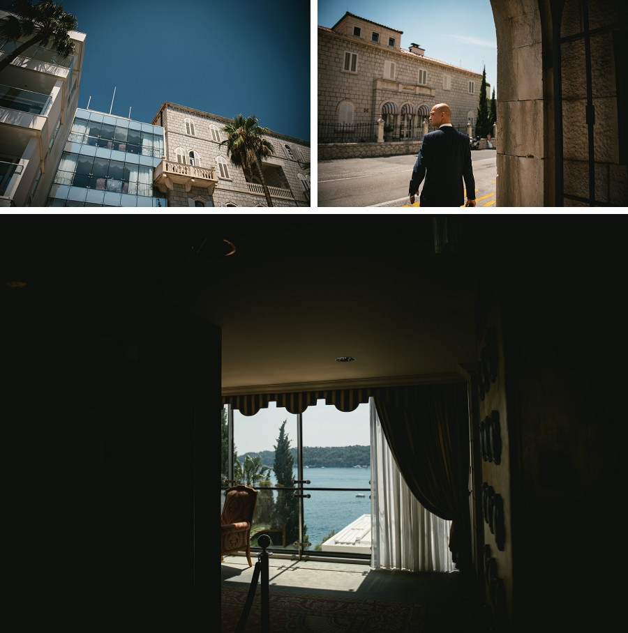 Details of the Grand Villa Argentina hotel in Dubrovnik