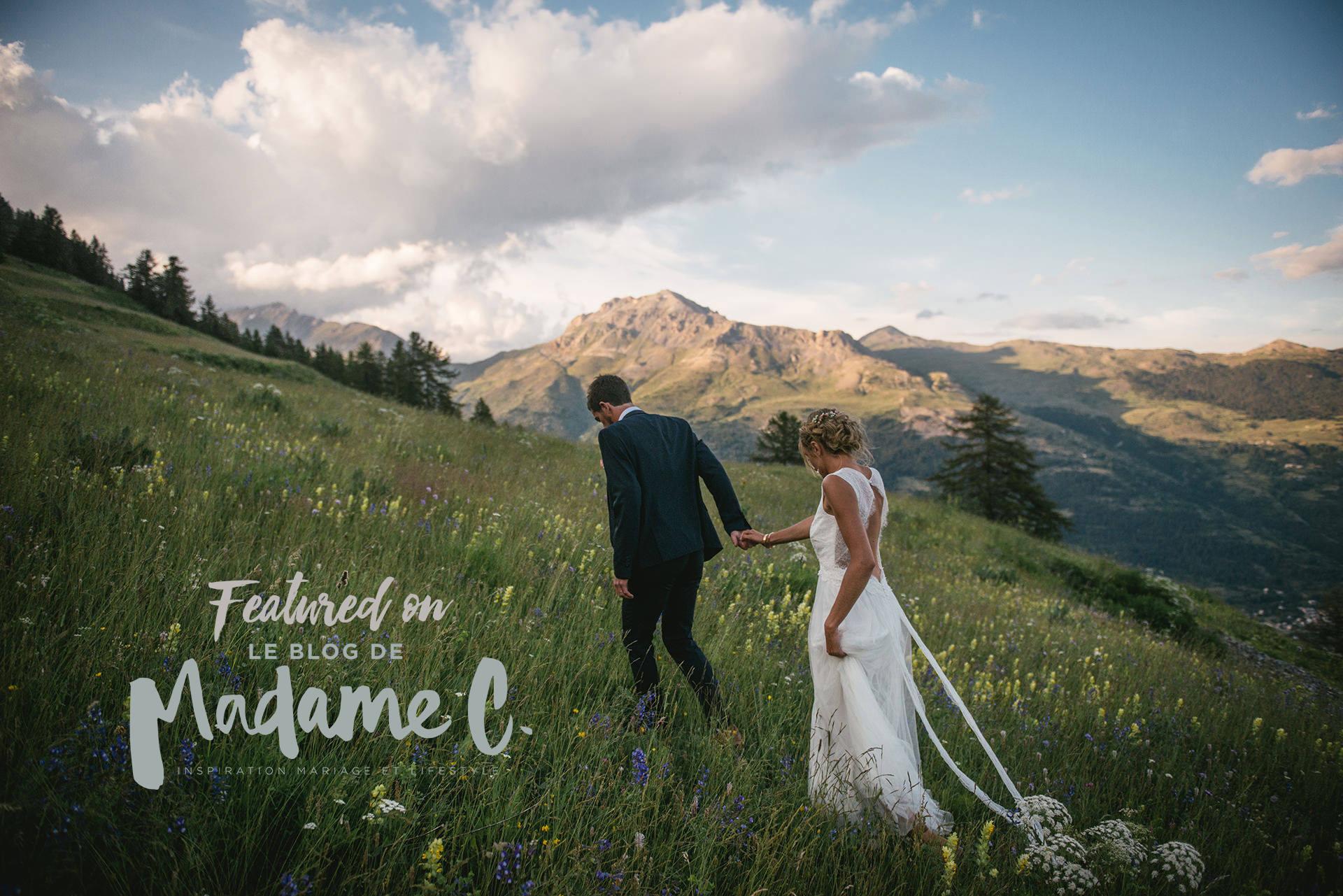 photographe de mariage à Briançon