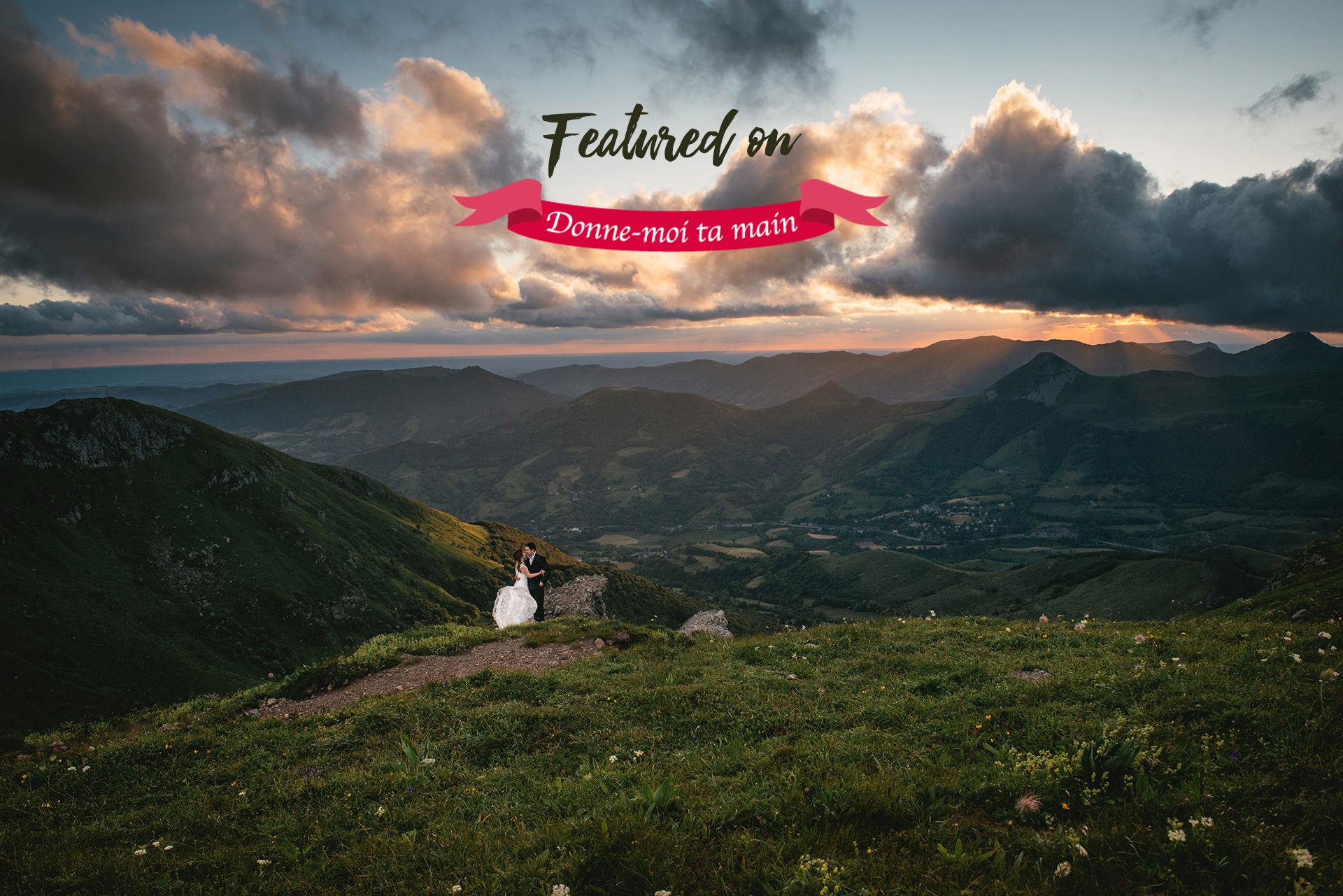 photographe de mariage à Aurillac