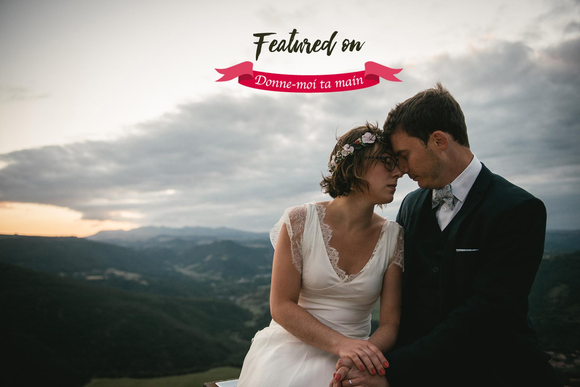 photographe de mariage au puy en Velay