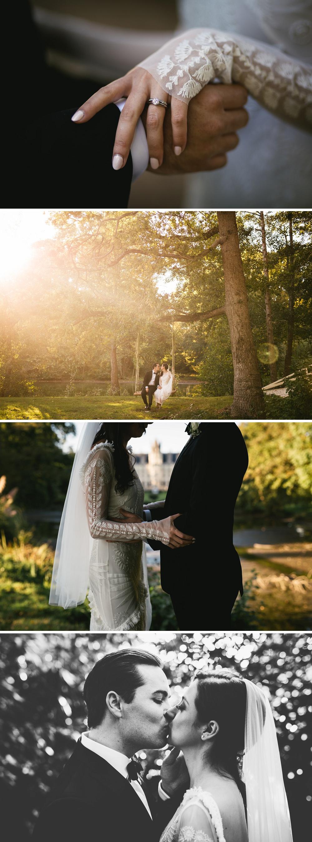 mariage château challain