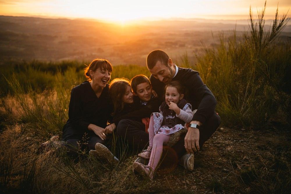 photographe de famille dans le Cantal