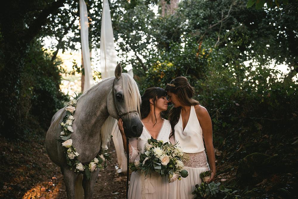 bohemian wedding brittany / zephyr and luna