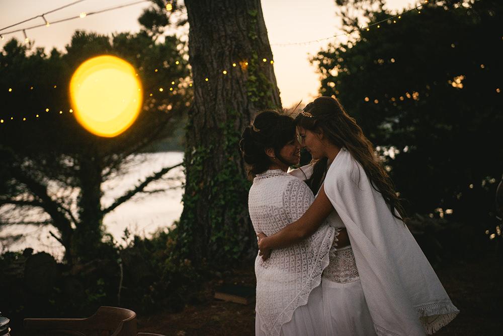 couple mariage bohème bretagne / zéphyr et luna