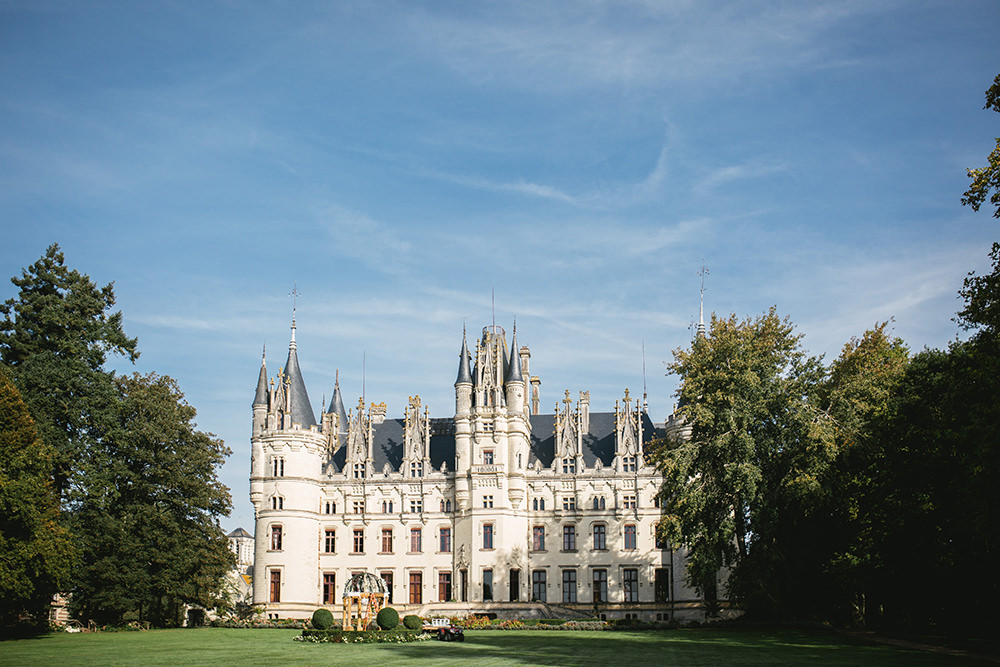 chateau challain elopement venue paris