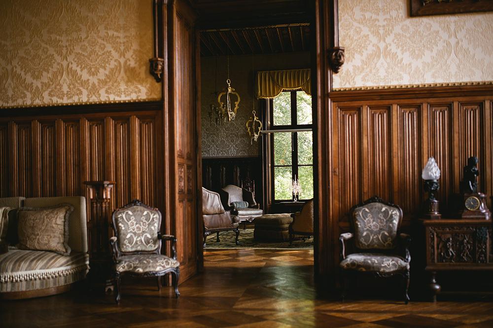 Mariage au chateau de challain / zéphyr et luna