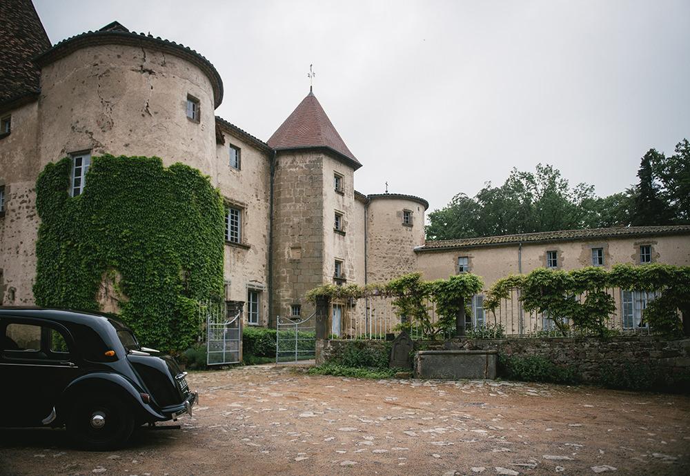 extérieur chateau martinanches / zéphyr et luna