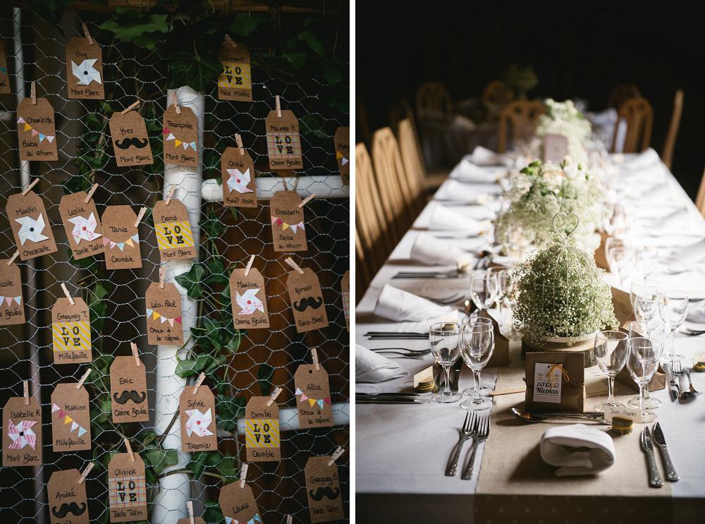 décoration mariage champêtre chateau martinanches / zéphyr et luna
