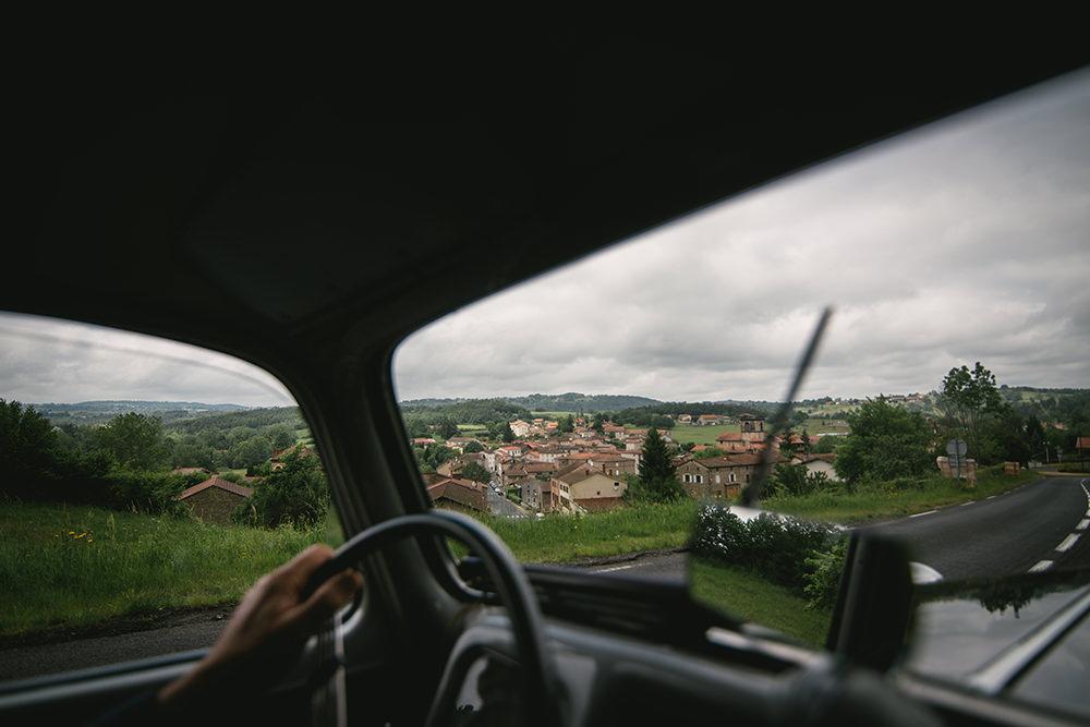 mariage chateau martinanches voiture ancienne / zéphyr et luna