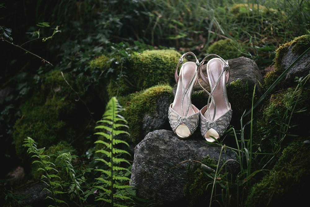 wedding shoes chateau durantie / zéphyr et luna