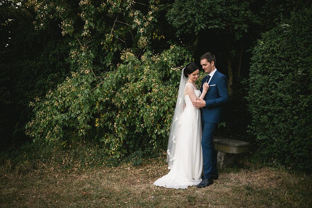 Mariage jardin chateau maulmont / zéphyr et luna
