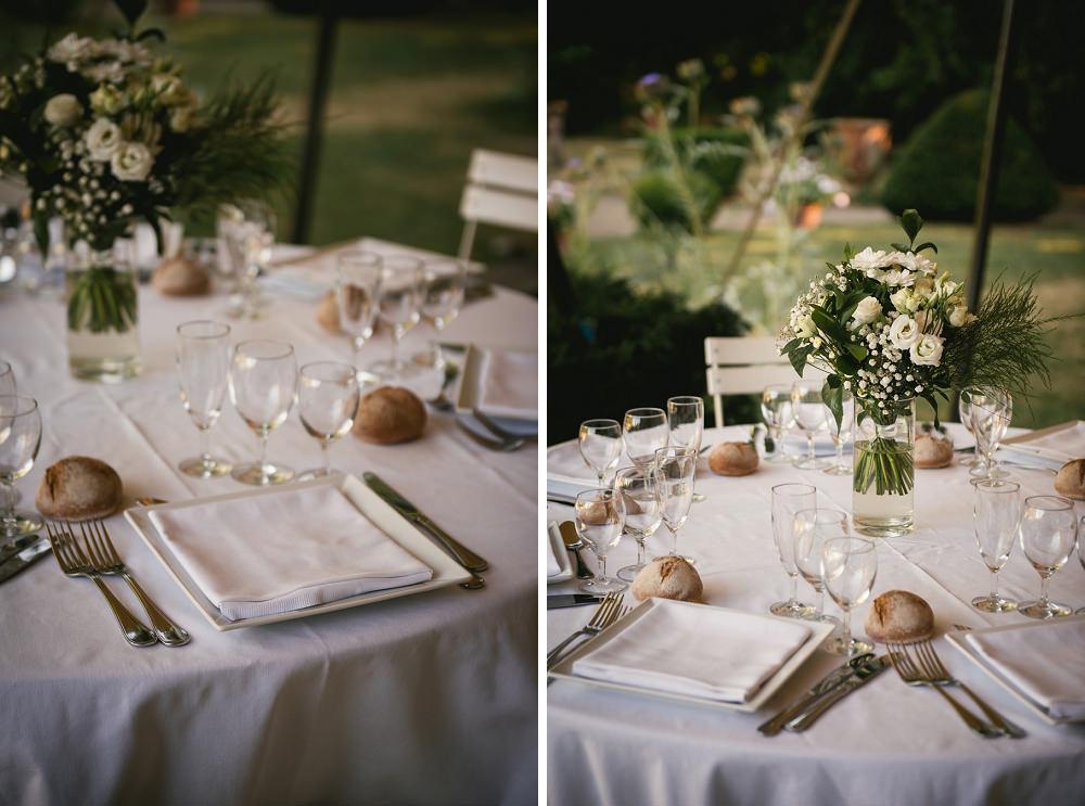 décoration mariage extérieur chateau maulmont / zéphyr et luna