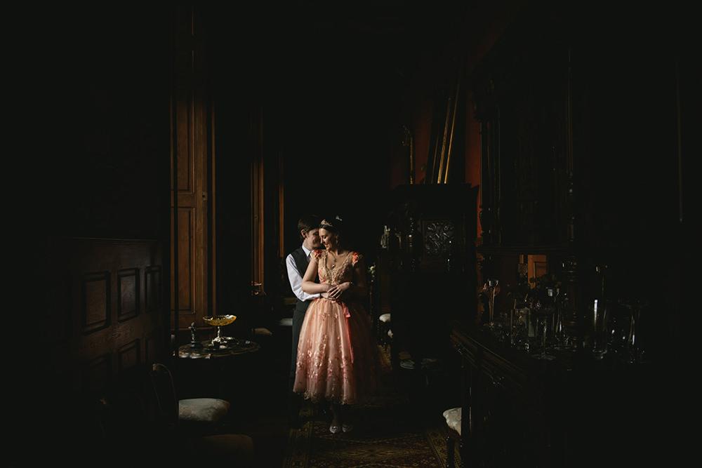 mariage intime chateau de vaux le vicomte / zéphyr et luna