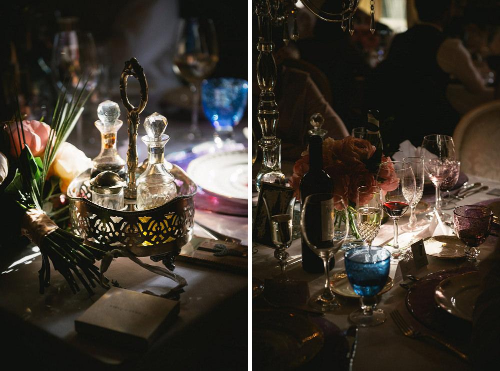 wedding table chateau vaux le vicomte / zéphyr and luna