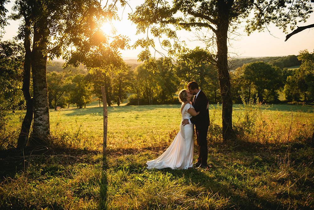 outdoor wedding domaine des andéols / zéphyr and luna