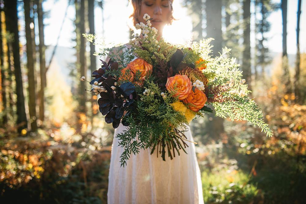 bouquet mariage gloriosa / zéphyr et luna