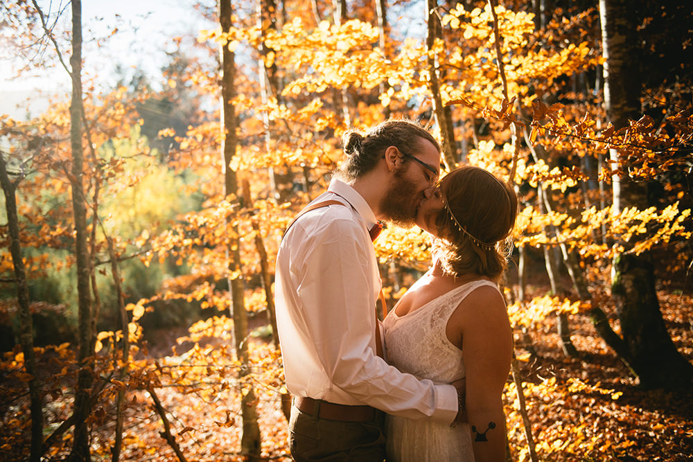 gather greene elopement wedding / zephyr & luna