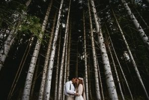 adventure elopement in the forest