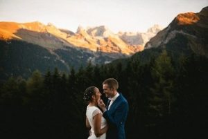 adventure elopement photographer in alps