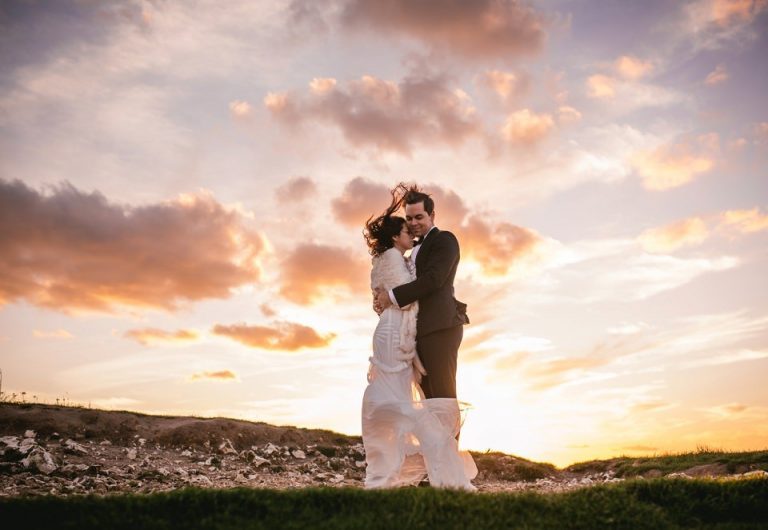 Kristina & Tyler – A chateau Challain elopement followed by a 10-days honeymoon in France and Italy