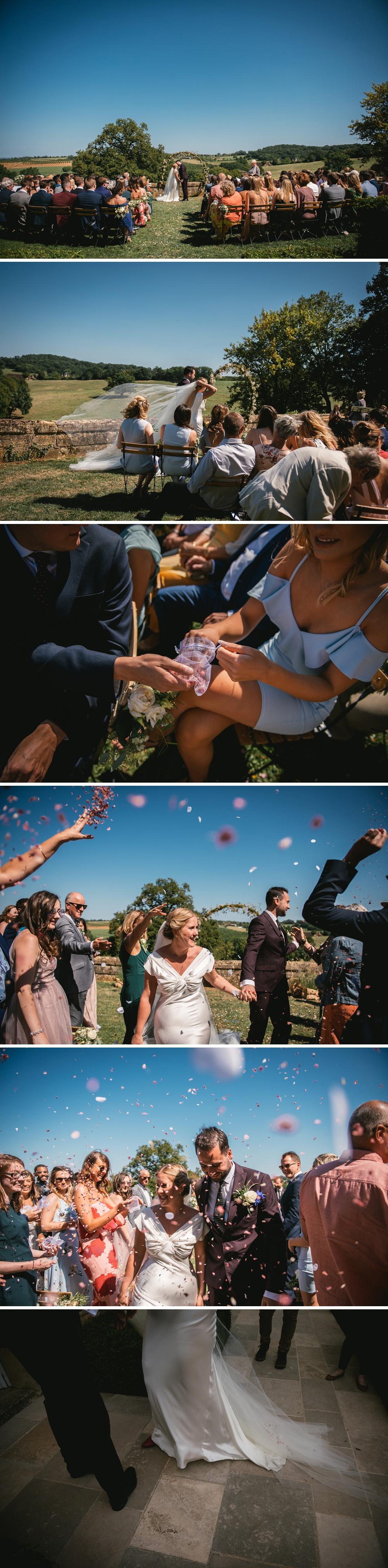 mariage golf club saint tropez zephyr luna photographe mariage st tropez