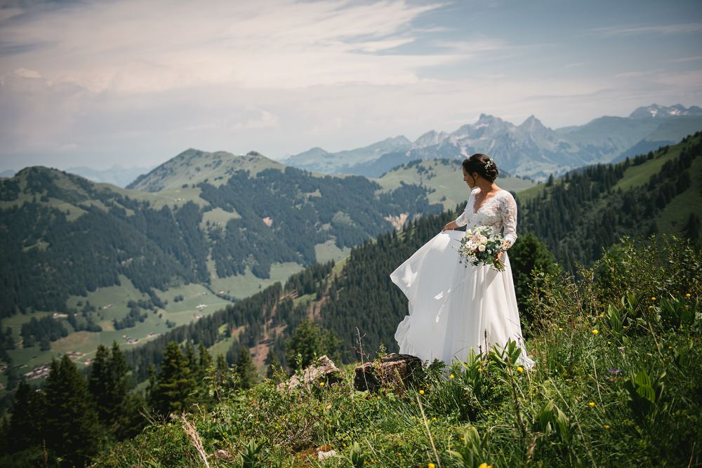 elopement in switzerland in summer