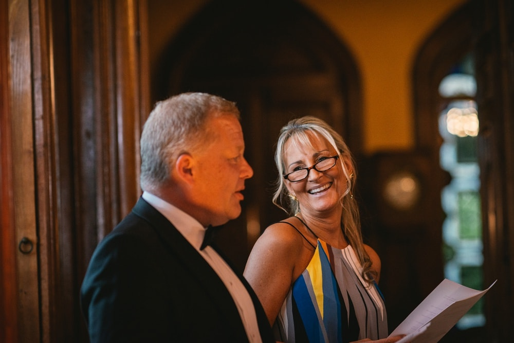 speeches at the chateau de maulmont reception hall