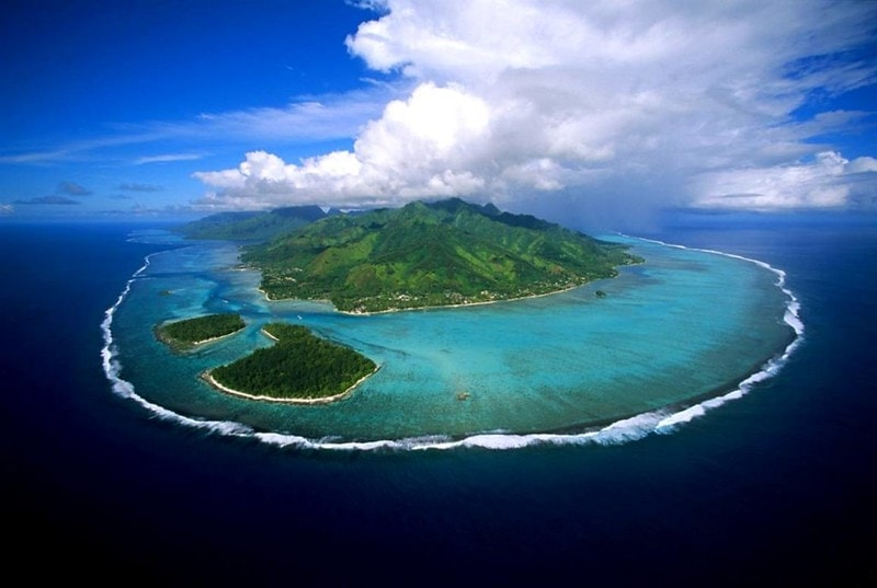 where to elope on the beach - french polynesia