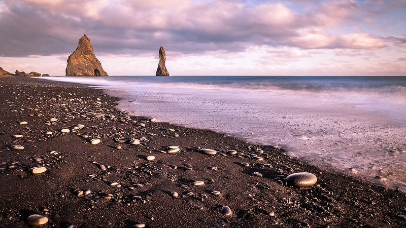where to elope on the beach - iceland