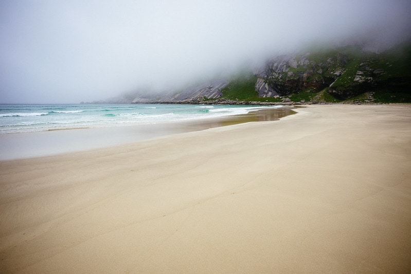 where to elope on the beach - lofoten