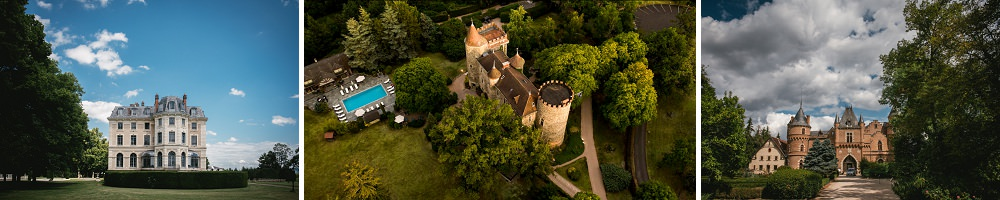 Best wedding venues in auvergne, france
