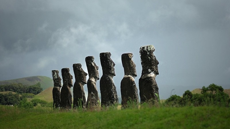 the best and most beautiful places to elope in the world - easter island