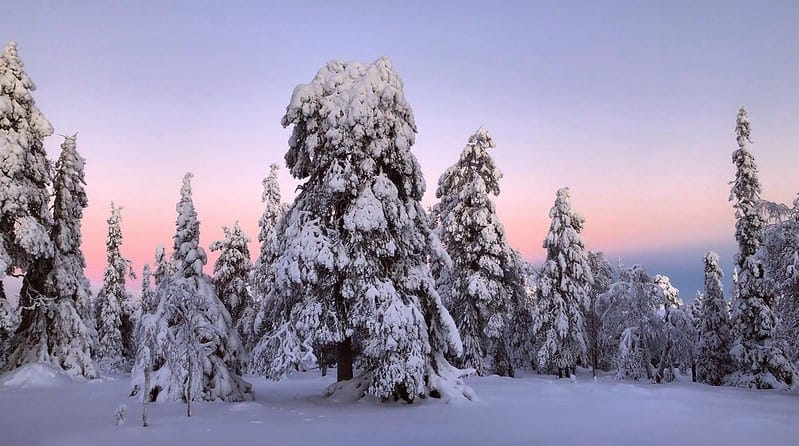 the best and most beautiful places to elope in the world - finland