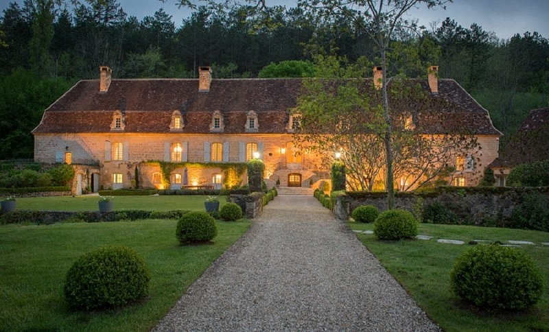best elopement venue in dordogne chateau forge du roy