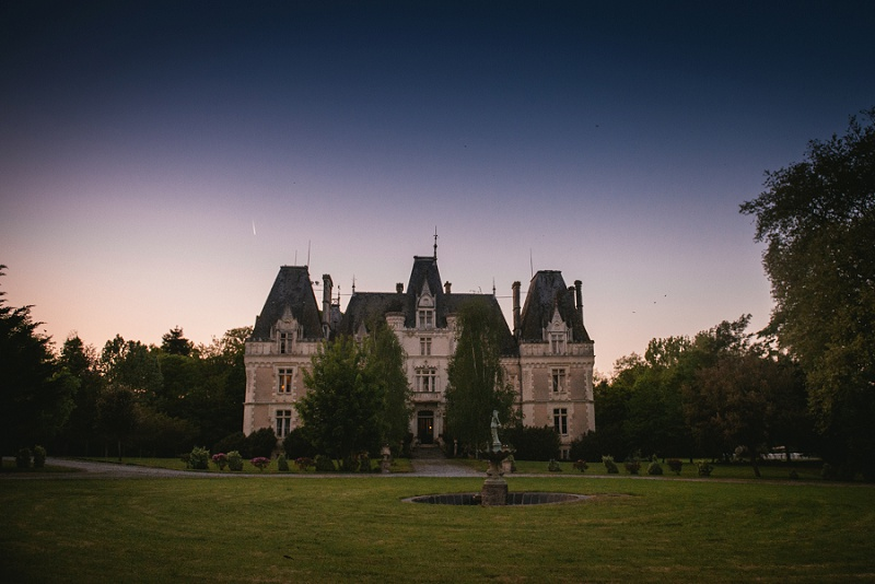 most beautiful chateau venue wedding france - chateau allure du lac