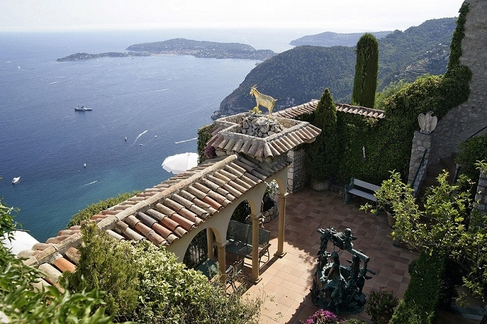 chateau chevre or best wedding venue french riviera