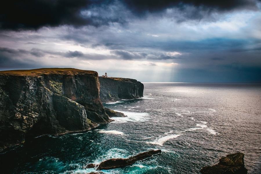 aventure de couple sur les shetlands