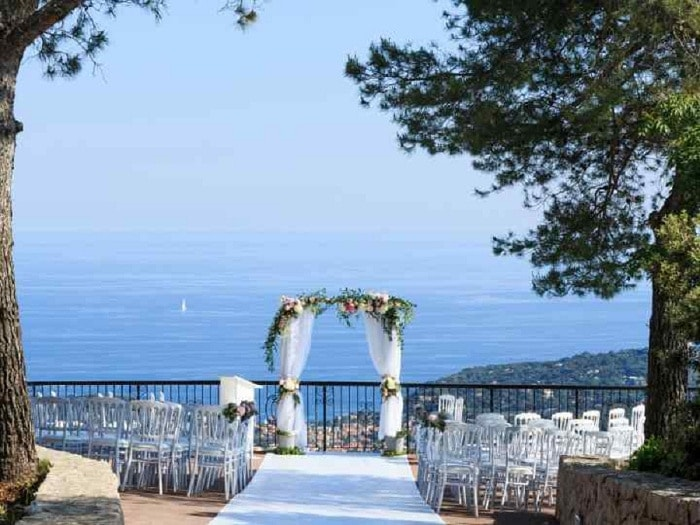 mont leuze best wedding venue french riviera
