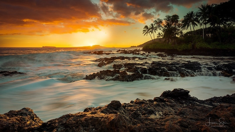 how to elope in hawaii sunset summer