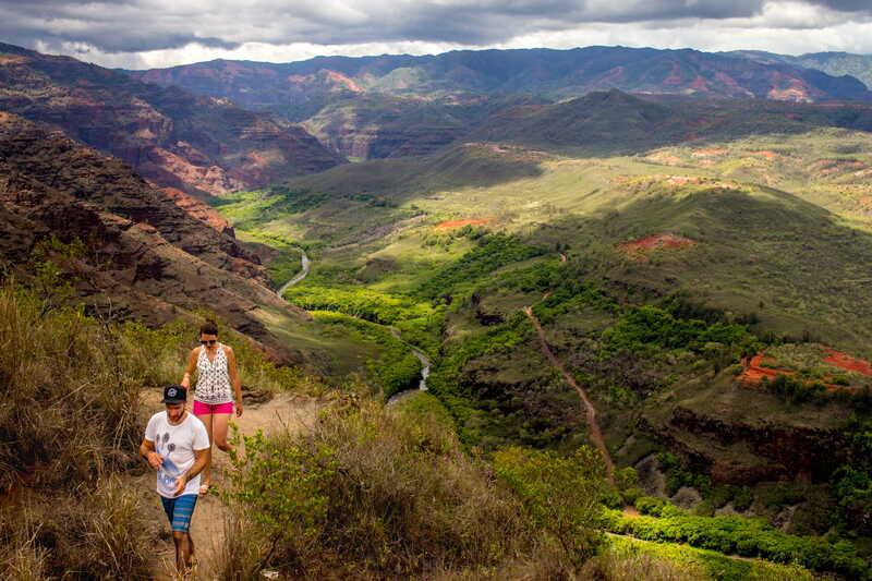 comment planifier un élopement à Hawaii - kokee state park