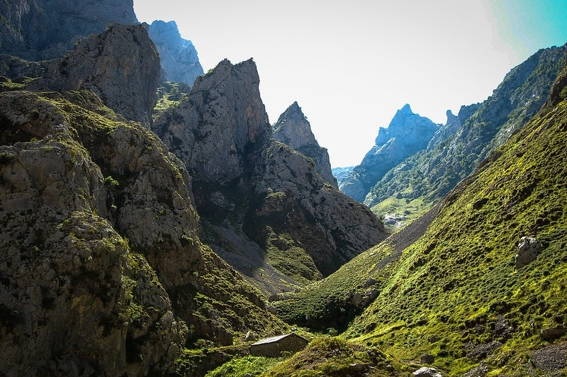 where to plan a mountain elopement - picos de europa