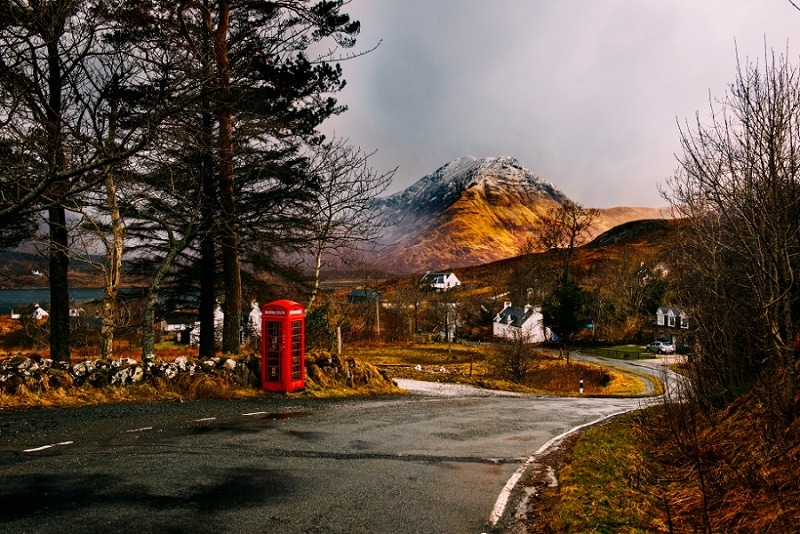 where to plan a mountain elopement - scotland