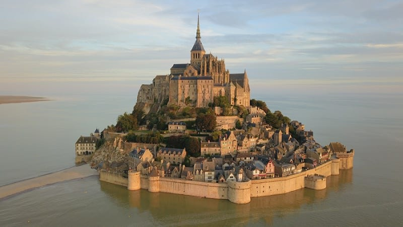most beautiful chateau to elope in france - mont saint michel