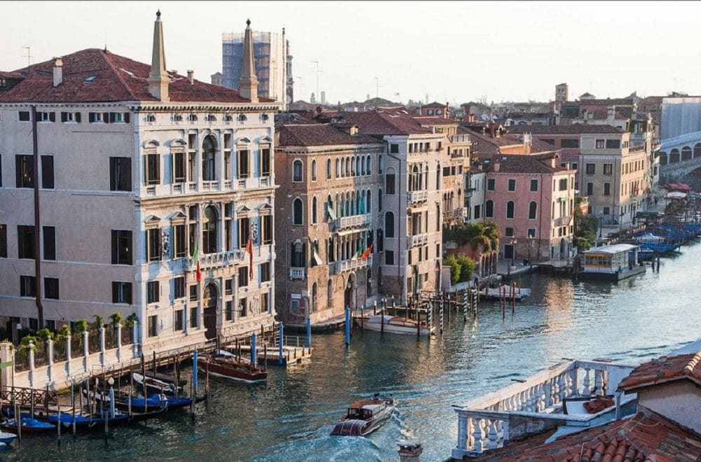 where to elope in europe - hotel aman venice