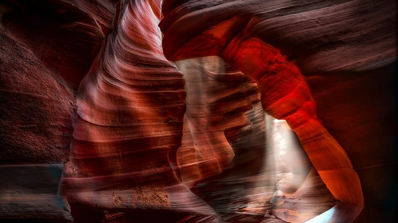 best places to elope in the us - antelope canyon