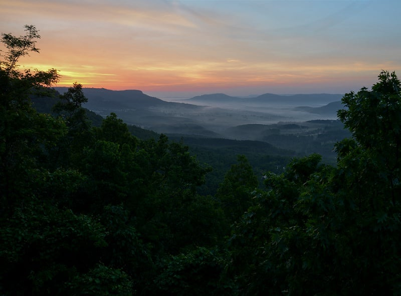 best places to elope in the us - arkansas grand canyon