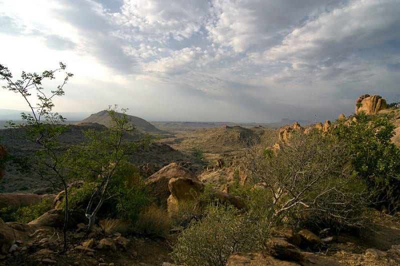 best places to elope in the us - big bend