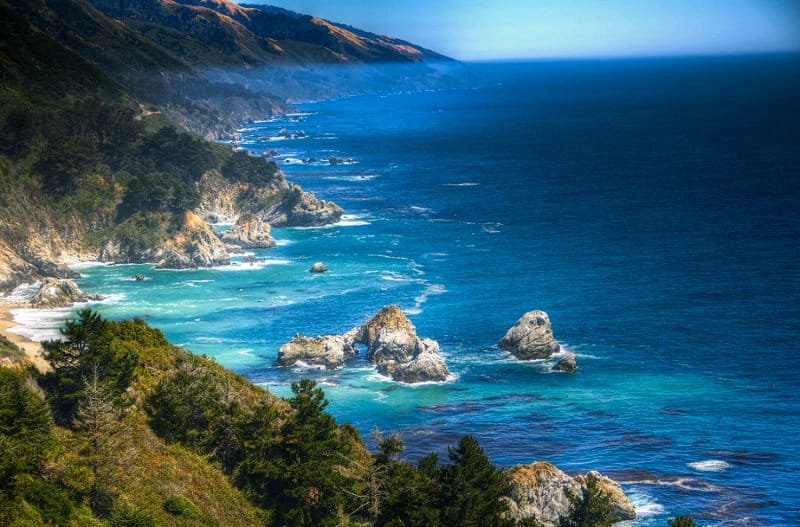 best places to elope in the us - big sur