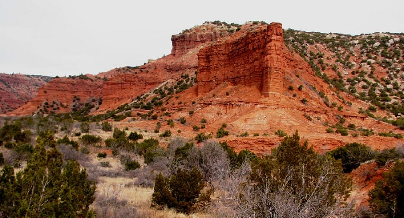 best places to elope in the us - caprock canyon